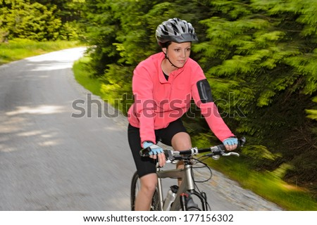 Young Road Cyclist Dressed Black Winning Stock Photo ...