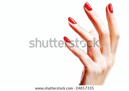 Woman's hand - stock photo