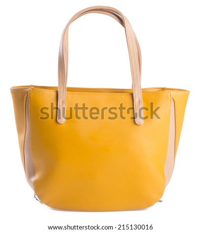 woman's handbag on the background - stock photo