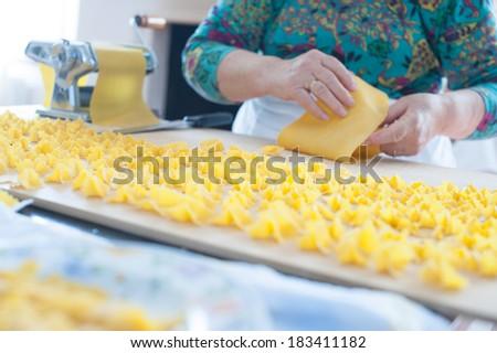 fresh pasta sheet