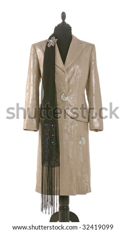 woman suit - stock photo