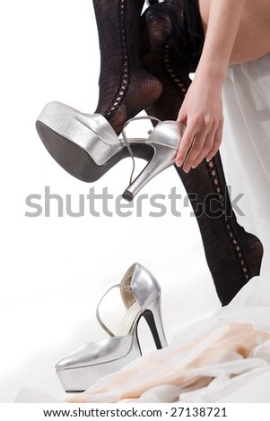 taking off shoes stock images, royalty-free images & vectors