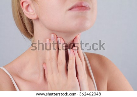 Woman thyroid gland control