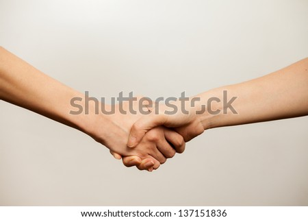 women agreement, women power, women handshake