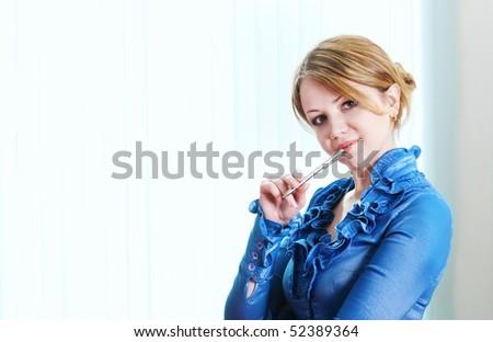 women in office - stock photo