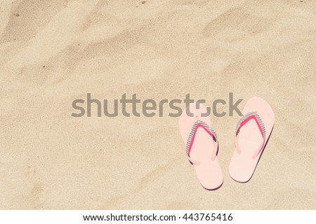 Women's beach or summer outfit - stock photo