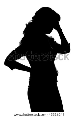 Women's issues - stock photo