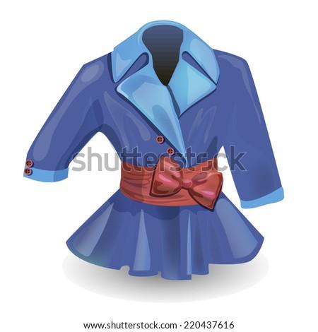 women's jacket - stock photo