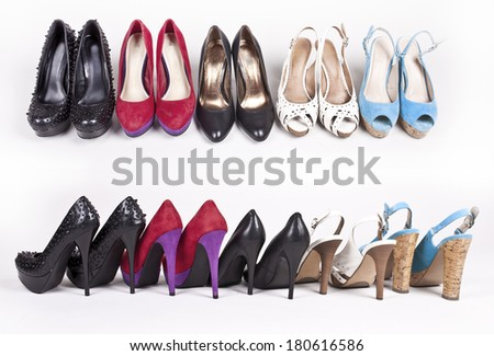 Women's shoes - stock photo