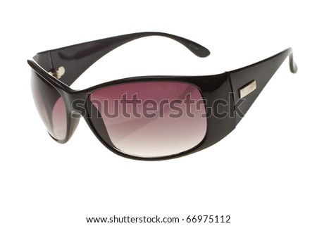 Women's sunglasses on a white background