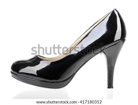 Women shoes isolated on white