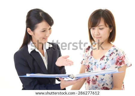 Women to the service - stock photo