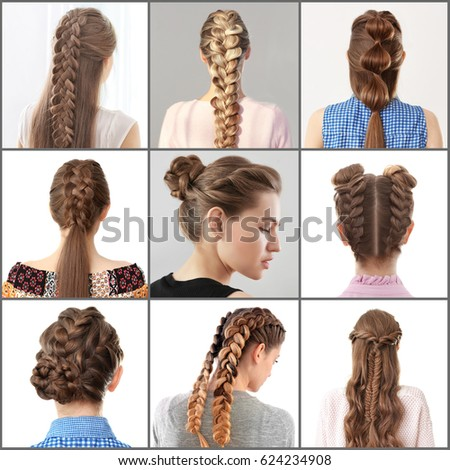 Women Different Hairstyles Stock Photo (Edit Now)- Shutterstock