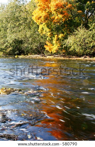 Wonder river - stock photo