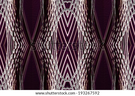 wonderful abstract illustrated glass background pattern - stock photo