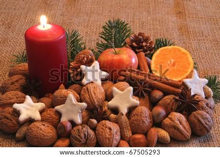 Wonderful Christmas time - stock photo