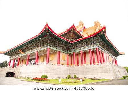 Wonderful museums building of sunyazen monument  - stock photo