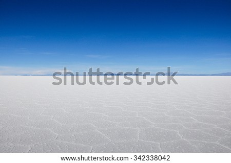 Wonderful Salar de Uyuni, Bolivia.