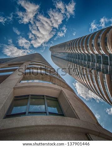 Wonderful skyscrapers of Toronto, Canada. - stock photo