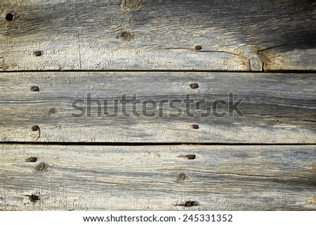 Wood background close up at high resolution - stock photo