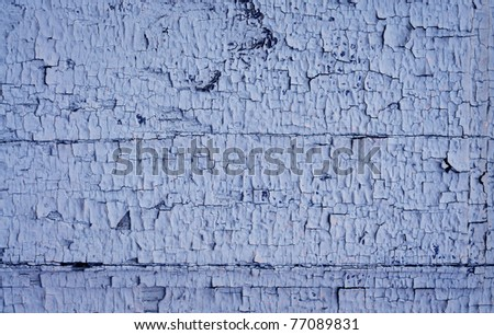 wood background is painted in the old gray paint - stock photo