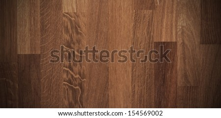 Wood background. Natural wooden texture with dramatic light and vignette effect - stock photo