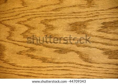 wood background, oak board - stock photo