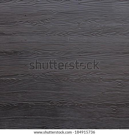 wood black plank texture background - stock photo