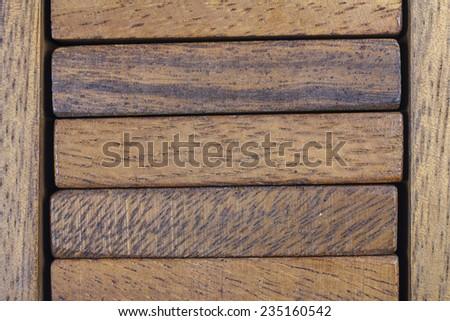 Wood block background texture. - stock photo