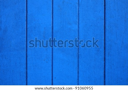 wood blue background for the image or text - stock photo
