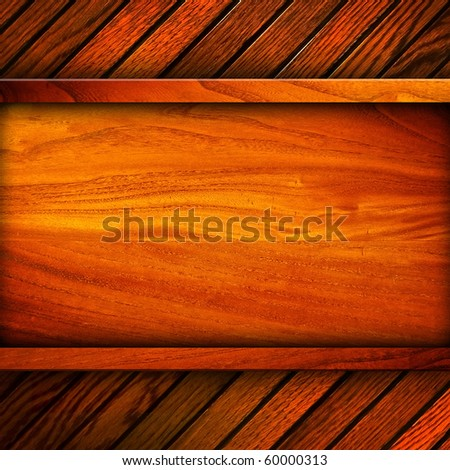 wood board background - stock photo