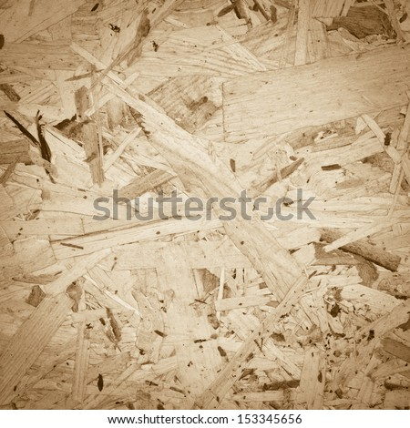 Wood board background made out of pieces of wood - stock photo