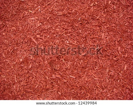wood chip background - stock photo