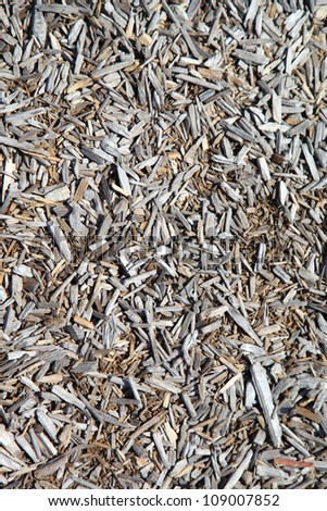 Wood chips - stock photo