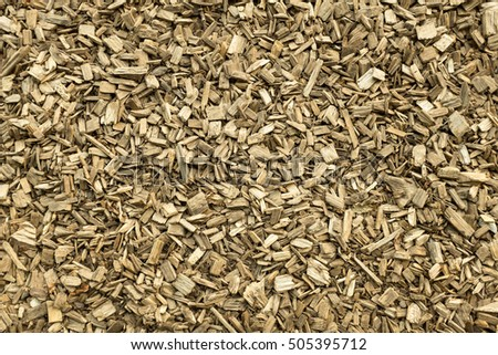 Wood chips as Ground Cover