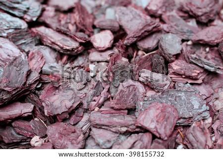 Wood chips retro colored  background stylish design - stock photo