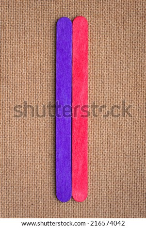 wood color colorful - stock photo