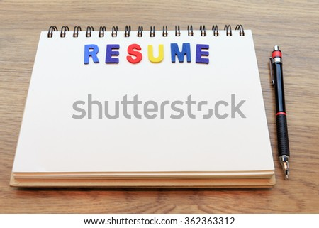Resume Background Stock Images, Royalty-Free Images & Vectors