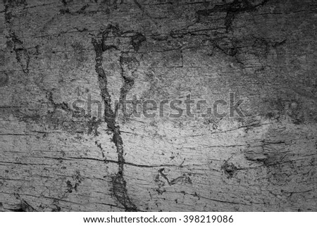 Wood cracked and dust background.