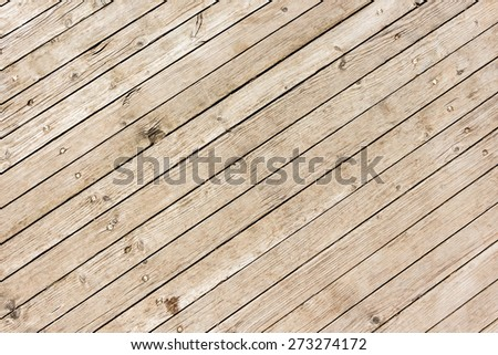 Wood diagonal plank old texture - stock photo