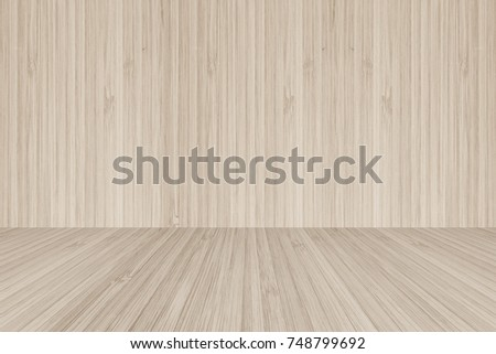 light wood floor perspective. Wood Floor Perspective View On Wooden Texture Wall In Light Sepia Brown Color Background For Sauna T