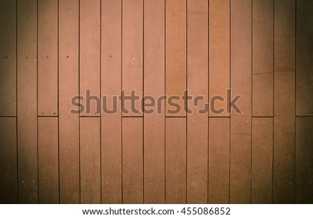 Wood floor texture in light color tone isolated on white background. nature good Perspective warm wooden floor texture. Empty room with wall and wooden floor. Art Wood Design Element Painted - stock photo