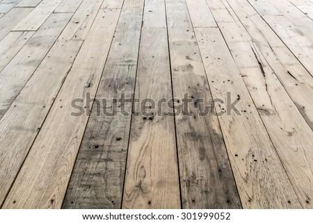 Wood Floor Texture Pattern - stock photo
