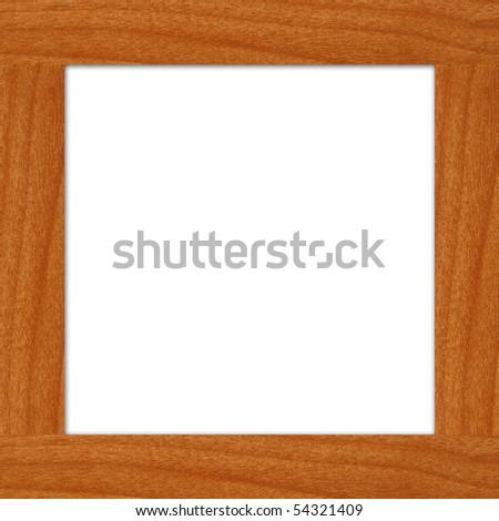 wood frame - stock photo