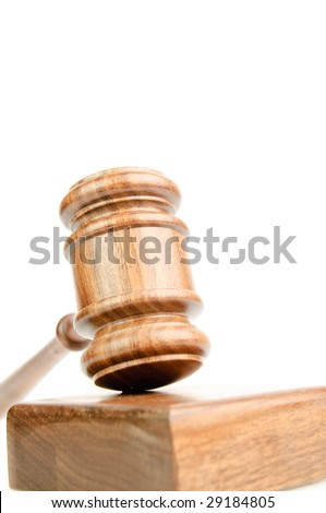 Wood gavel