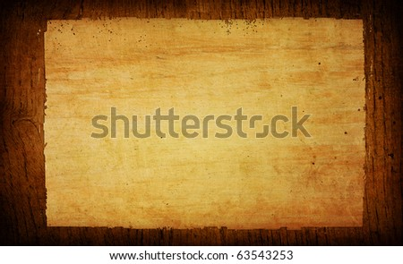 wood grungy background with space for text - stock photo