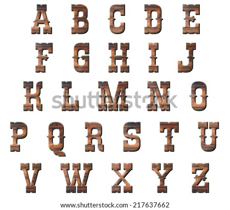 Western Letters Stock Images, Royalty-Free Images & Vectors ...