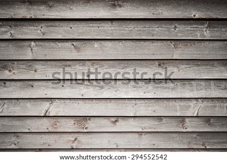 Wood old wall background shot on natural light. - stock photo