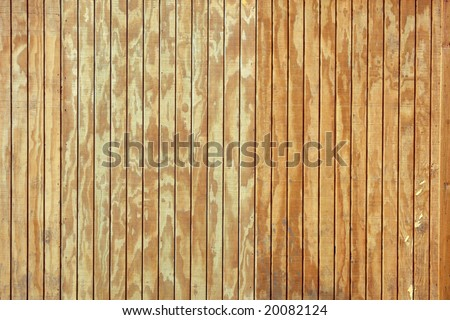 Wood Panel - stock photo