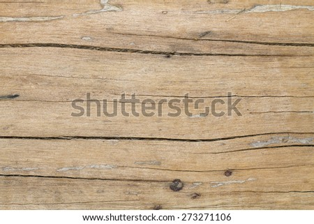 Wood plank as texture and background - stock photo